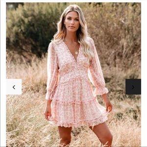 NWT Vici Keegan Floral dress